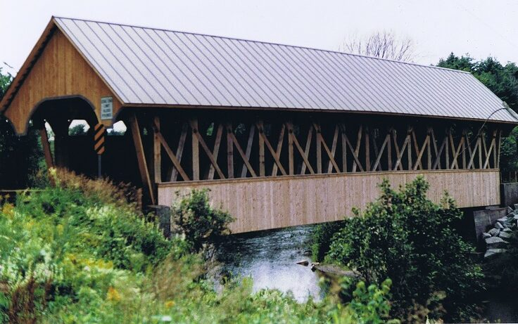 Fairfield Covered Bridge After Reconstruction