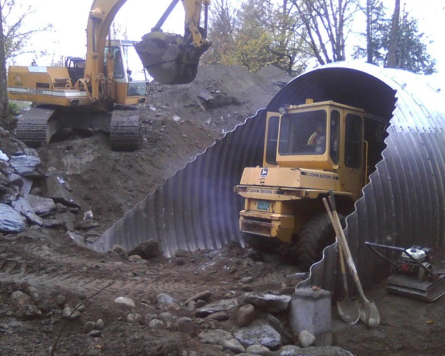 culvert construction