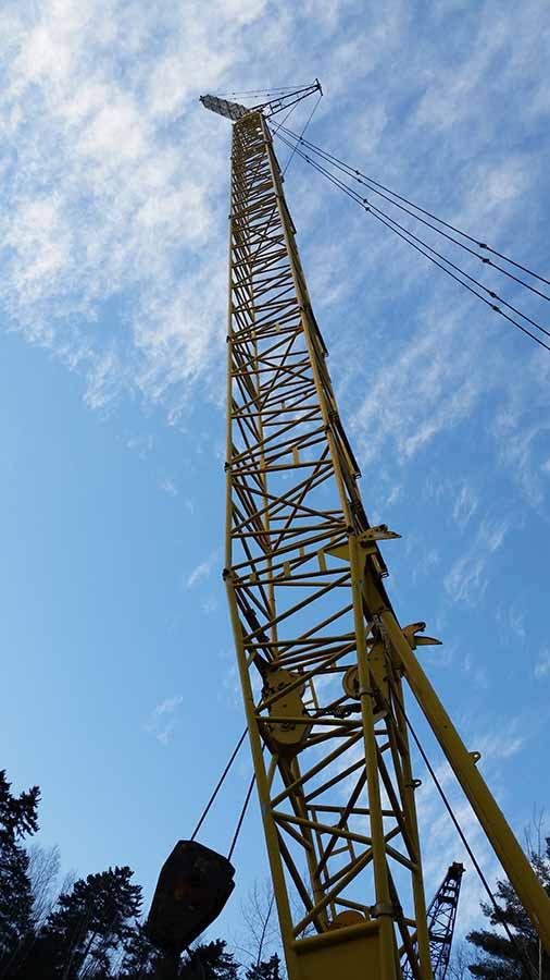 Crane Service based in Morrisville, VT