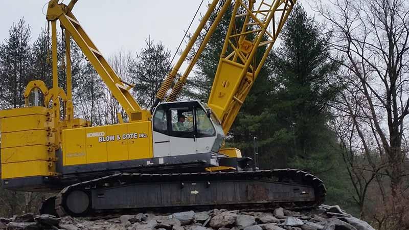 Crane Rental Morrisville Vermont