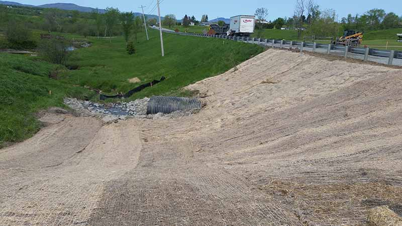 Roadway Slopes Stabilization based in Morrisville VT