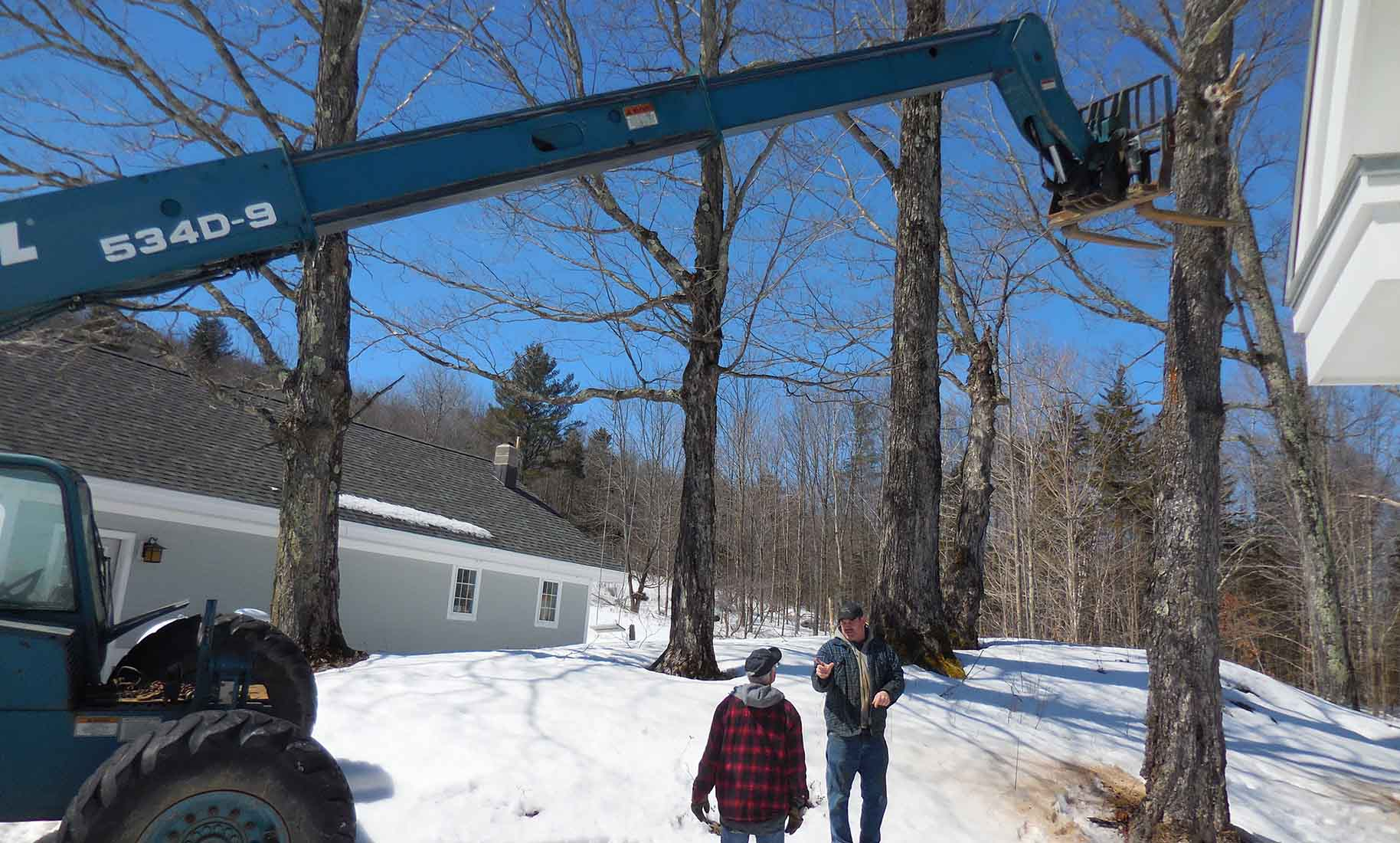 Land Clearing Services based in Morrisville, VT